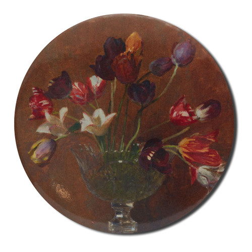 Arthur Streeton, Tulips Pocket Mirror