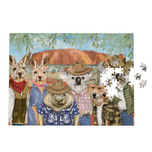 Sunny Outback Jigsaw Puzzle