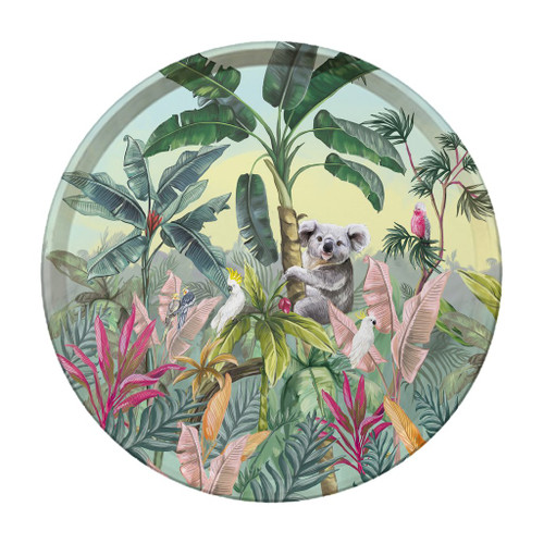 Tropical Nature Dwellings Celebrations Tray