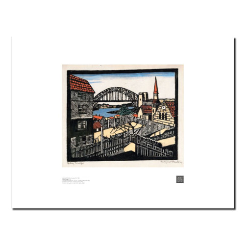 Margaret Preston, Sydney Bridge print