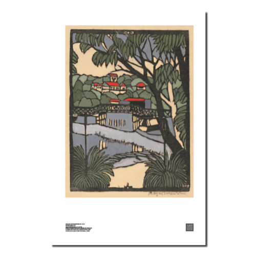 Margaret Preston, Mosman Bridge Print