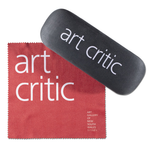 Art Critic Glasses Case