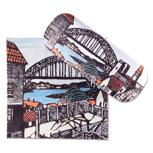 Margaret Preston, Sydney Bridge Glasses Case