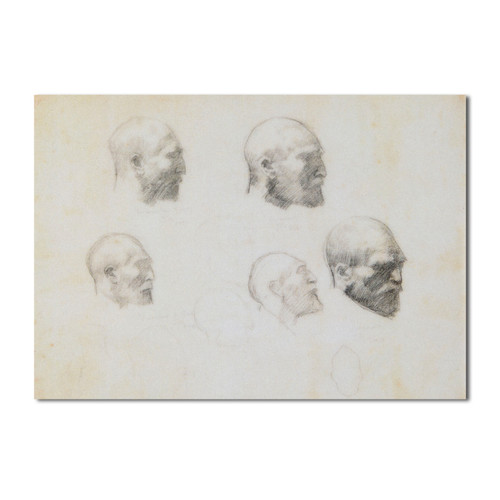John Russell, Five Studies of Vincent Van Gogh Notepad