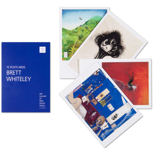 Brett Whiteley Postcard Pack