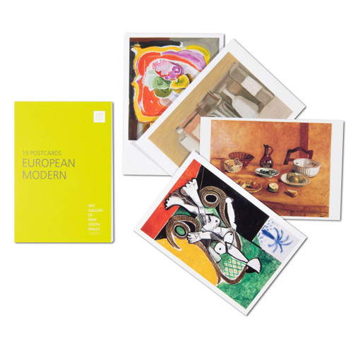 European Modern Postcard Pack