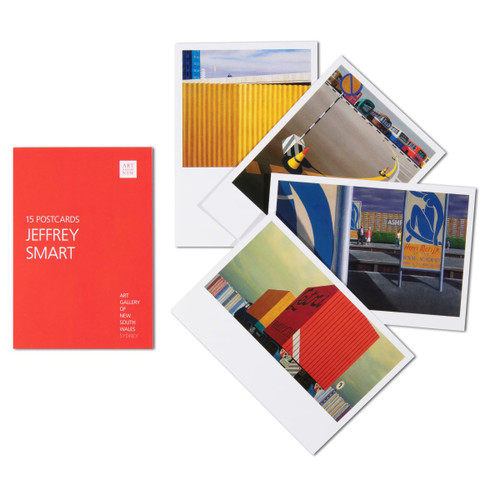 Jeffrey Smart Postcard Pack