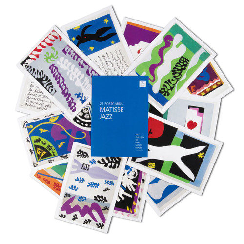 Matisse Jazz Postcard Pack