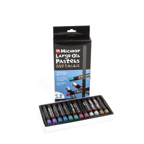 Micador Metallic Oil Pastels Large