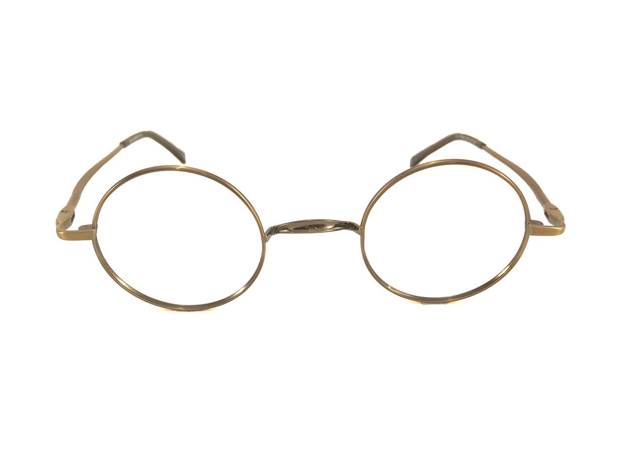John Lennon Wheels Eyeglass Frames - Antique Copper