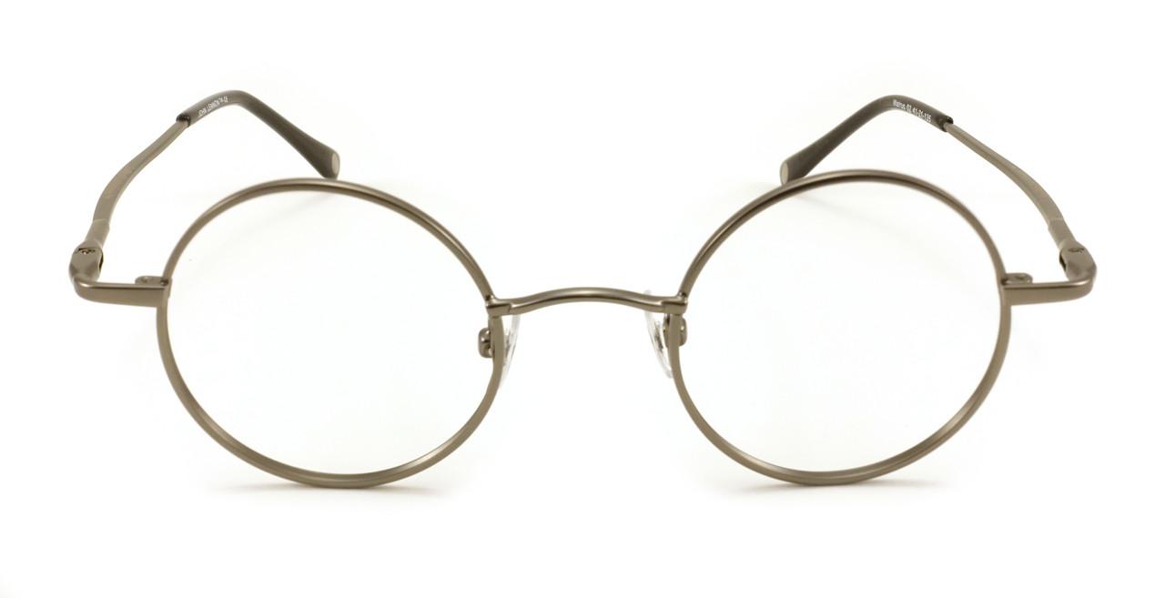 b1fbcfad37c John Lennon Walrus Eyeglass Frames - Antique Pewter