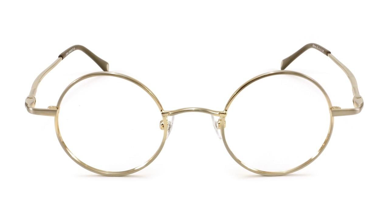 dd0523c9d2 John Lennon Walrus Eyeglass Frames - Satin Gold