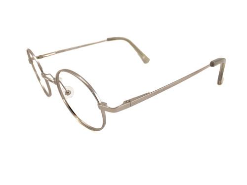 3cab6f796f John Lennon Starting Over Eyeglass Frame - Silver