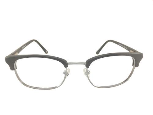 John Lennon Mind Games Eyeglass Frame - Black/Silver