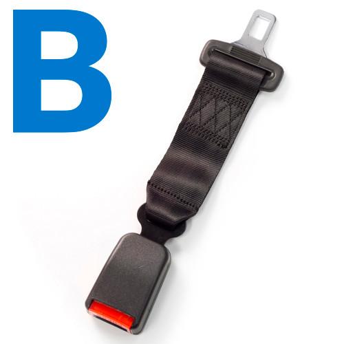 Type B Car Seat Belt Extender
