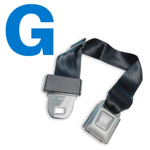 Type G Car Seat Belt Extender