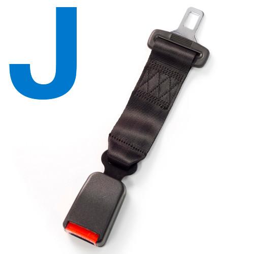Type J Car Seat Belt Extender