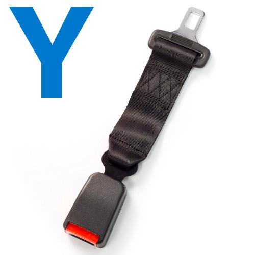 Type Y Car Seat Belt Extender
