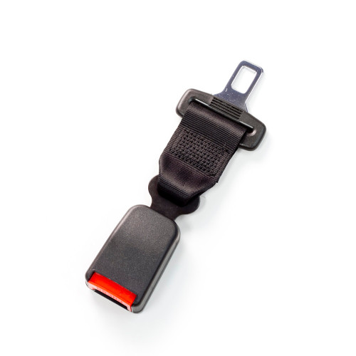 """The most popular Seat Belt Extender Pros seat belt extension variation: 7"""", Black, and Regular"""