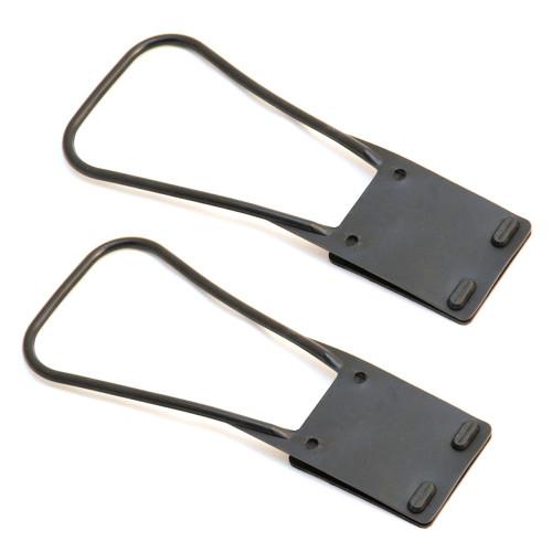 2-Pack of Seat Belt Grabber Handles (Black)