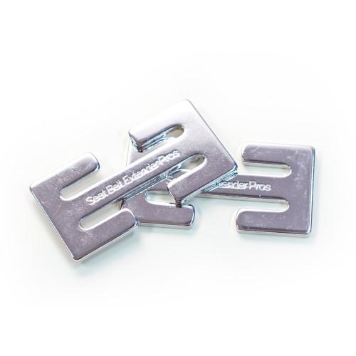 Frankie™ Seat Belt Adjuster Clip by Seat Belt Extender Pros 2-pack