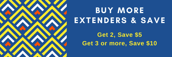 Save 5 dollars when you order 2 extenders, and save 10 dollars when you buy three or more.