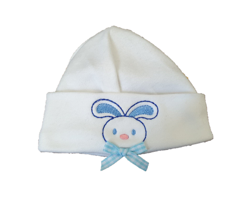 rabbit cotton baby hat