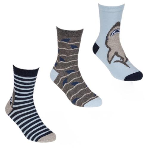 3 pack Shark socks by Tiktok