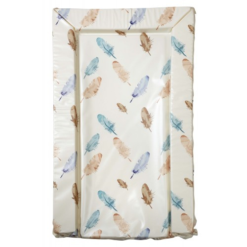 NURSERY CHANGING MAT Blue Feathers