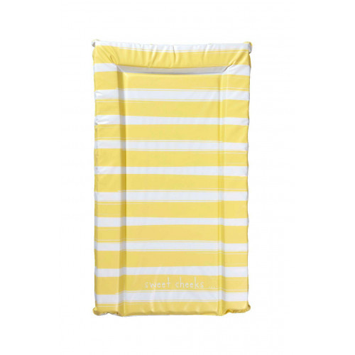 NURSERY CHANGING MAT Sweet cheeks yellow
