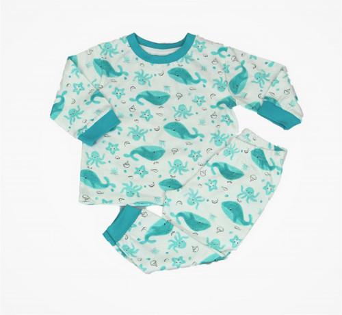 Whale Pyjamas long Sleeved