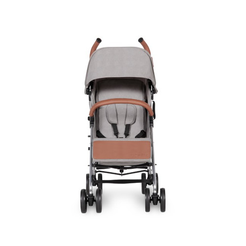 Ickle Bubba Discovery Stroller - Grey / mirror
