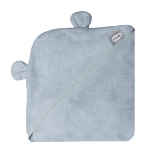 Wearable Hooded Towel - Grey inc ears