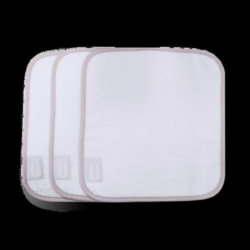 Baby Wash cloths White