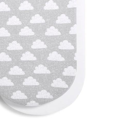 Moses Basket/Pram 2 Pack Fitted Sheets - Cloud Nine