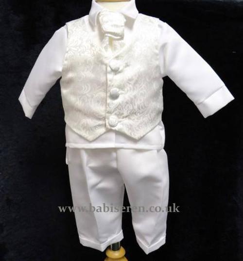 Carlos Ivory suit