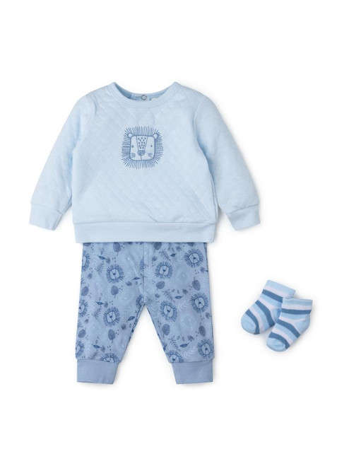 Lion Quilted Set