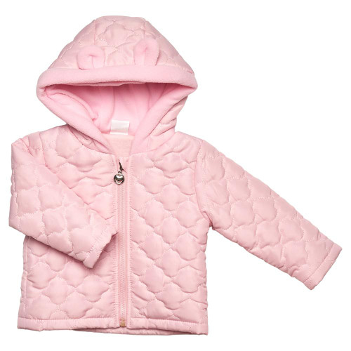 Baby Padded Cloud Coat Baby Pink