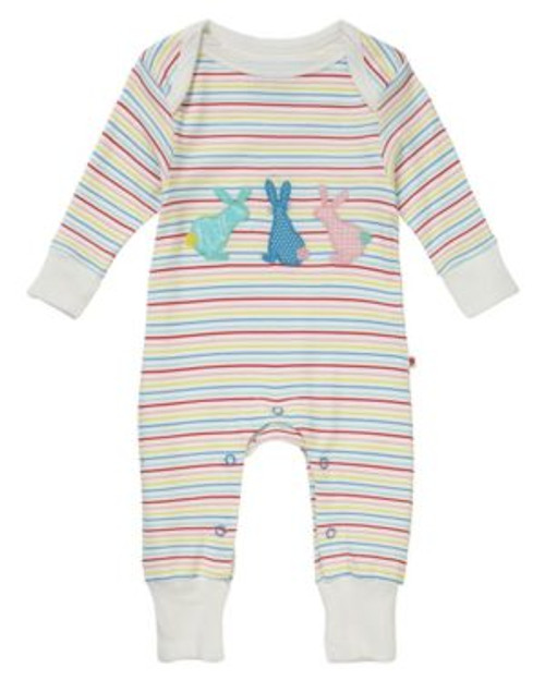 Sleepsuit/Playsuit Hopping Bunny