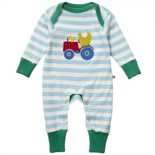 Sleepsuit/Playsuit Farm Tractor