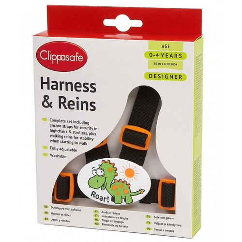 Clippasafe Harness and reins set - designer collection (2 colour choice)