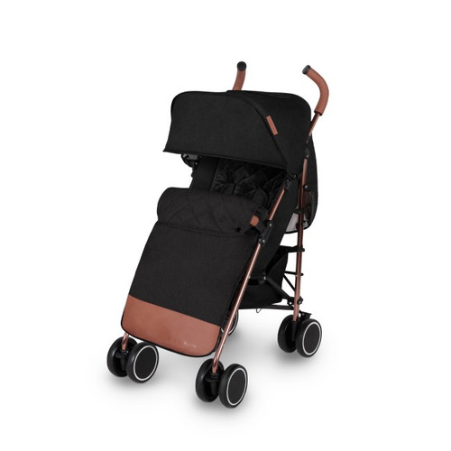 Ickle Bubba Discovery Max Stroller - Black/ Rosegold