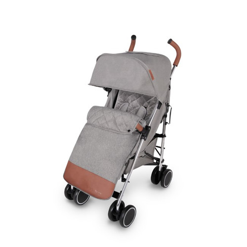 Ickle Bubba Discovery Max Stroller - Grey / mirror