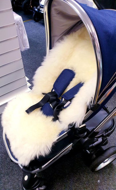 Marshmallow Liner Full  Sheepskin Pushchair Liner