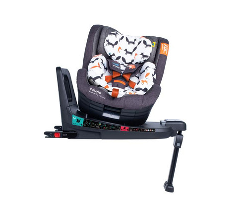 RAC Come and Go I-Rotate I-Size Car Seat Mr Fox