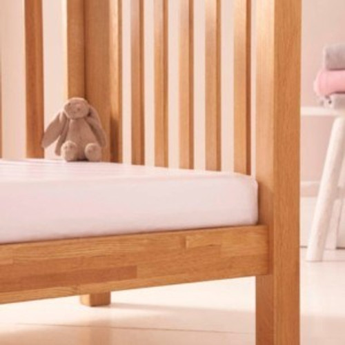 Bedside Crib Mattress Protector by Clair de Lune