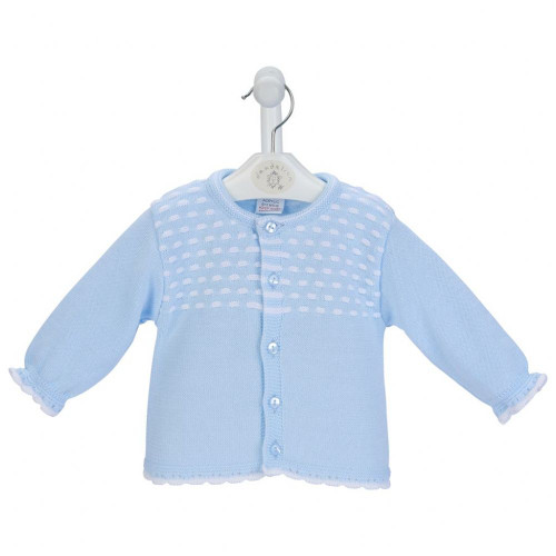 Blue Dash  knitted Cardigan