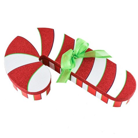 Candy Cane Goodie Box