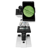 40X-1000X Biological Compound Microscope, Binocular, Incandescent Light + Mobile Phone Adapter