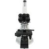 40X-1000X Biological Compound Laboratory Microscope, Trinocular, LED Light, Finite